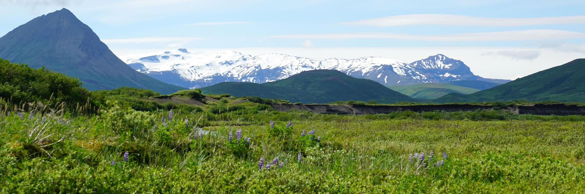 photo of Alaska Peninsula near Aniakchak Bay